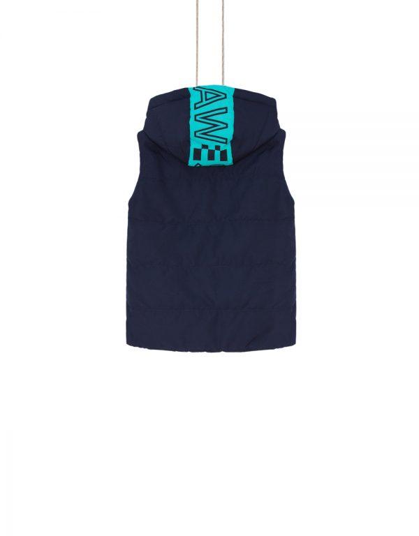 chlapčenská vesta modrá