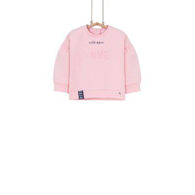 ružová mikina