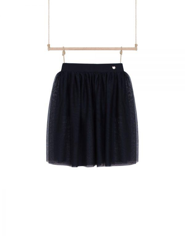 dievčenská sukňa s kraťasmi