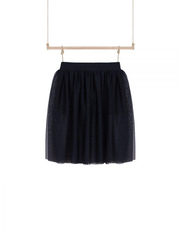 dievčenská sukňa tylová