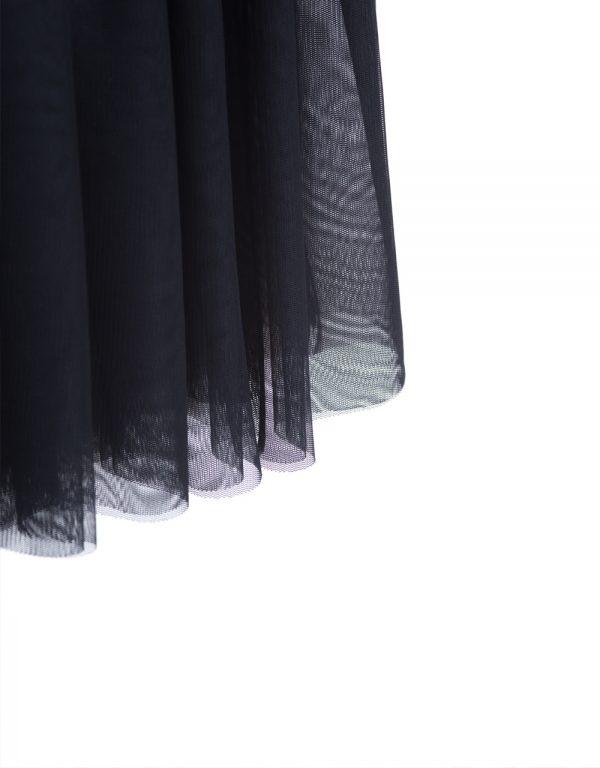 sukňa dievčenská čierna