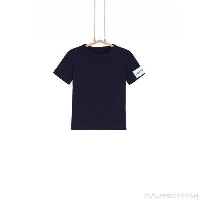 tričko Bebakids tmavomodré