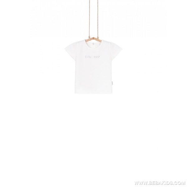 dojčenské tričko biele