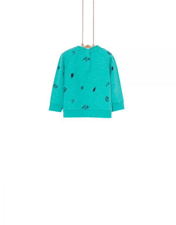 tyrkysové tričko chlapčenské