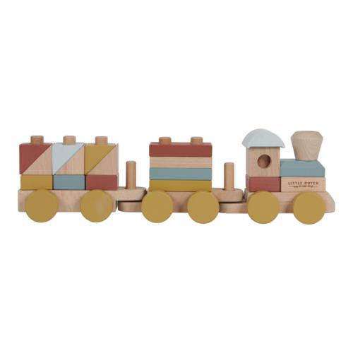 drevený vláčik Little Dutch