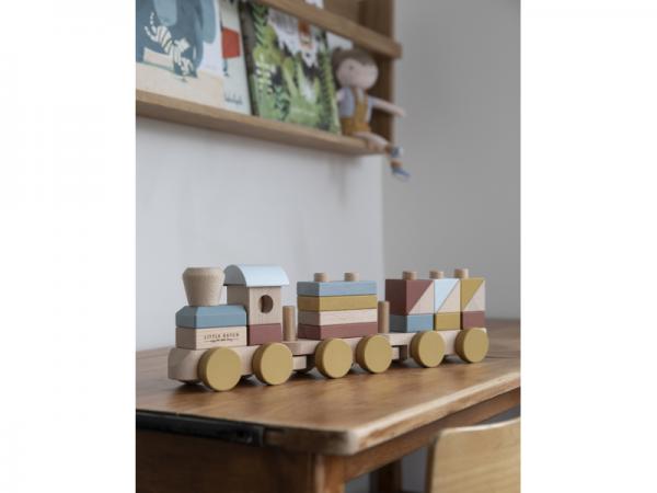 drevený vláčik