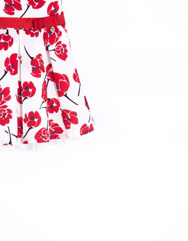 dievčenské šaty kvietkované