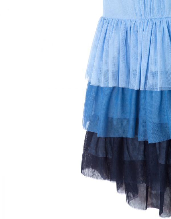 dievčenské šaty modré