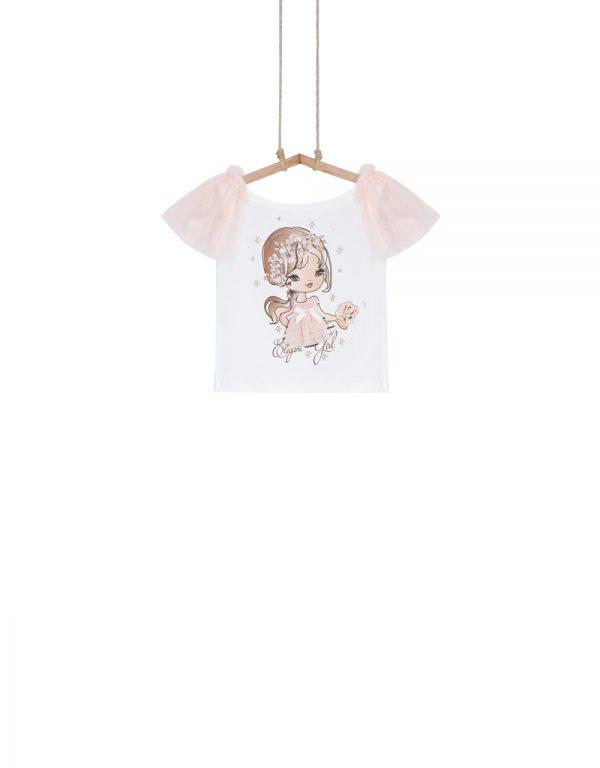 štýlové detské tričko