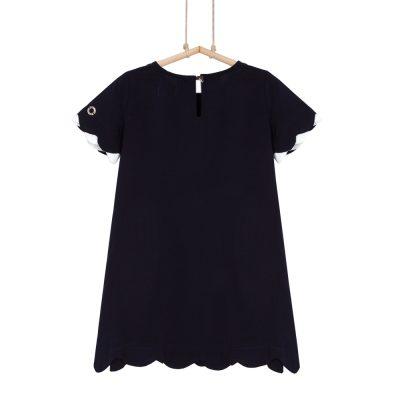 dievčenské šaty tmavomodré