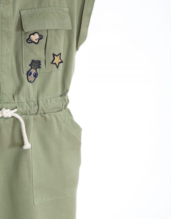 dievčenské oblečenie army