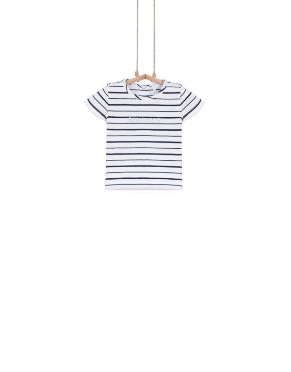 dievčenské tričko pásikavé