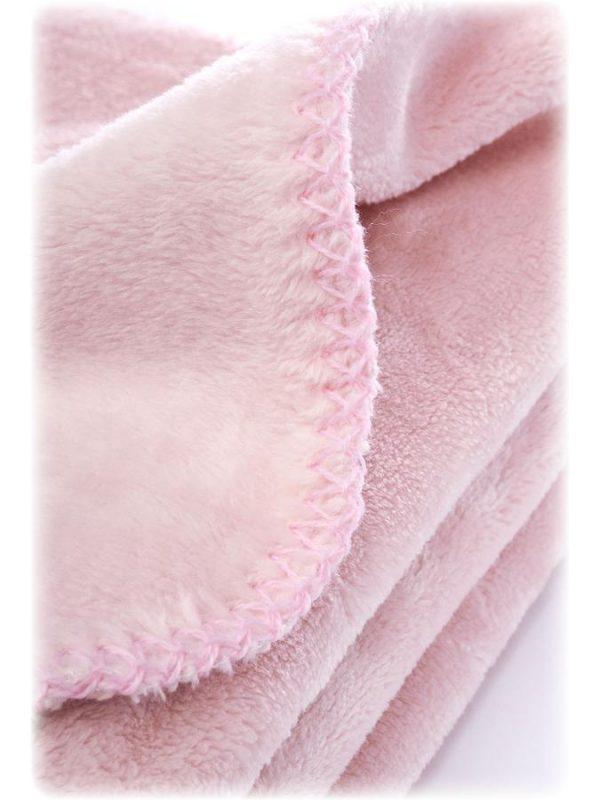 detská deka ružová Sensillo