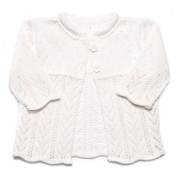 dievčenský pletený svetrík