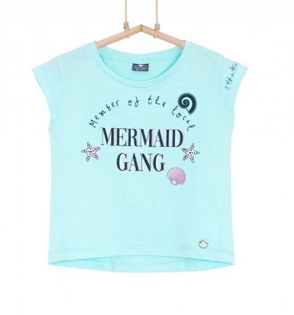 dievčenské tričko mätové
