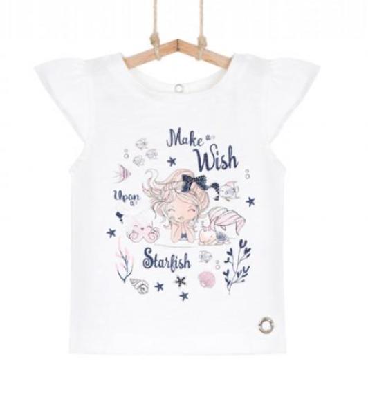 dievčenské tričko letné
