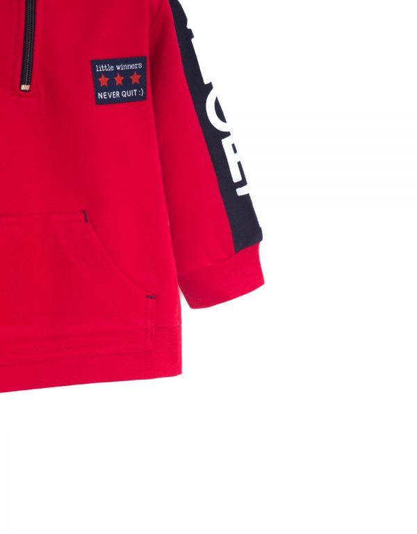 červené oblečenie pre chlapcov