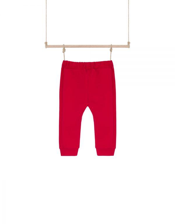 červené tepláky pre chlapcov
