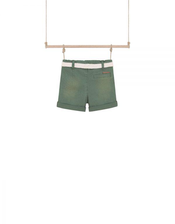detské šortky zelené
