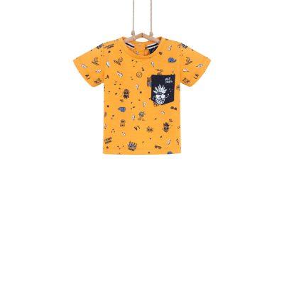 detské tričko žlté