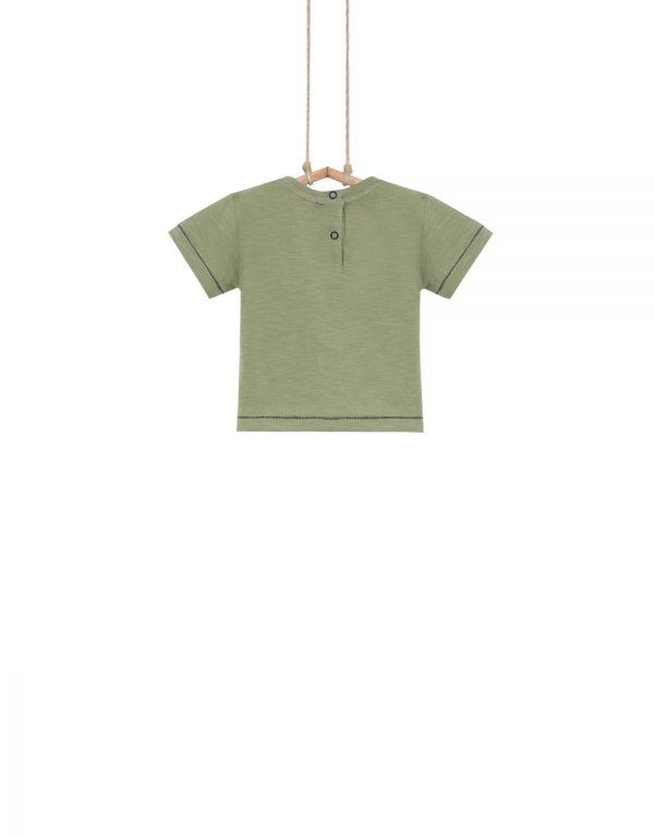 chlapčenské tričko zelené