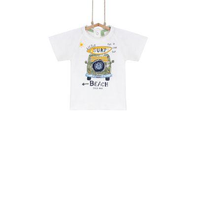 chlapčenské tričko s autom