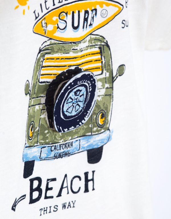 chlapčenské tričko autíčko