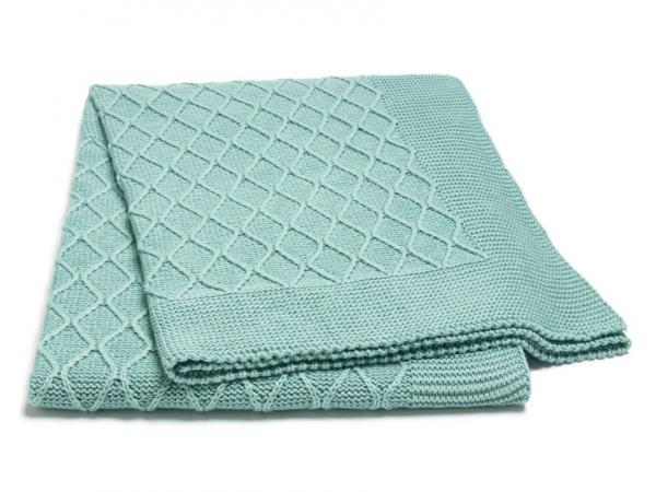 deka do kočíka pletená