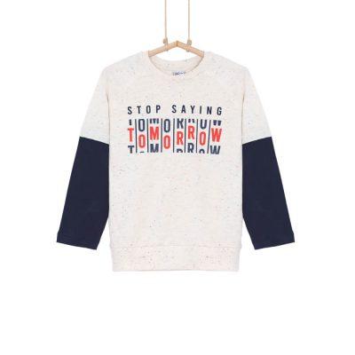 chlapčenské tričko s dvojitým rukávom
