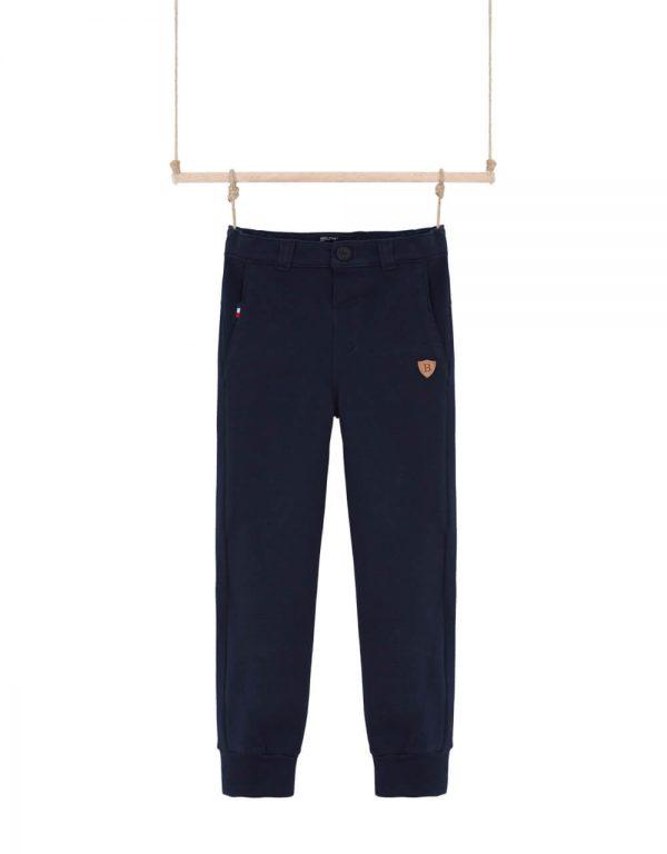 chlapčenské teplákové nohavice