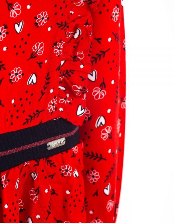 dievčenské šaty červené Bebakids