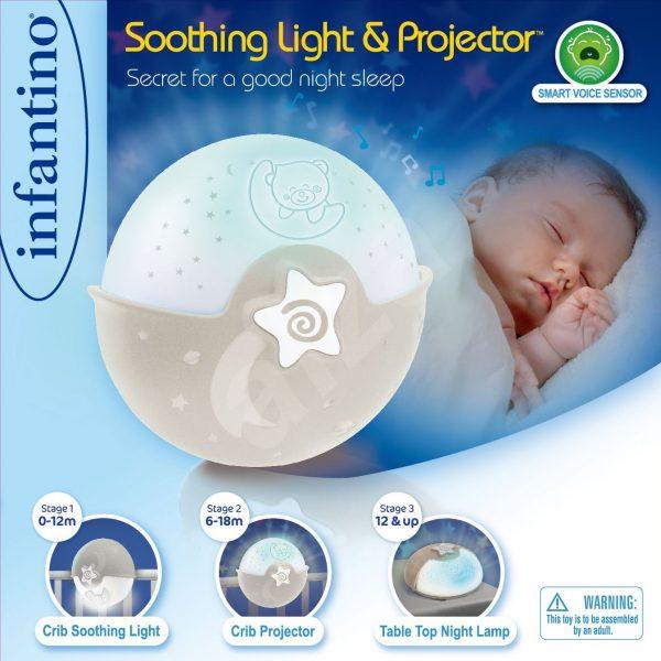 lamipčka pre bábätko Infantino béžová