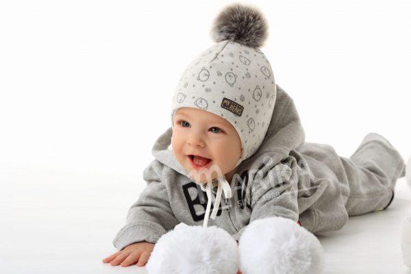 novorodenecké číapky zimné