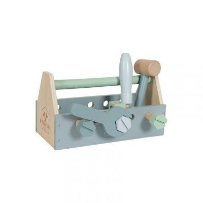 drevený box s náradím Little Dutch