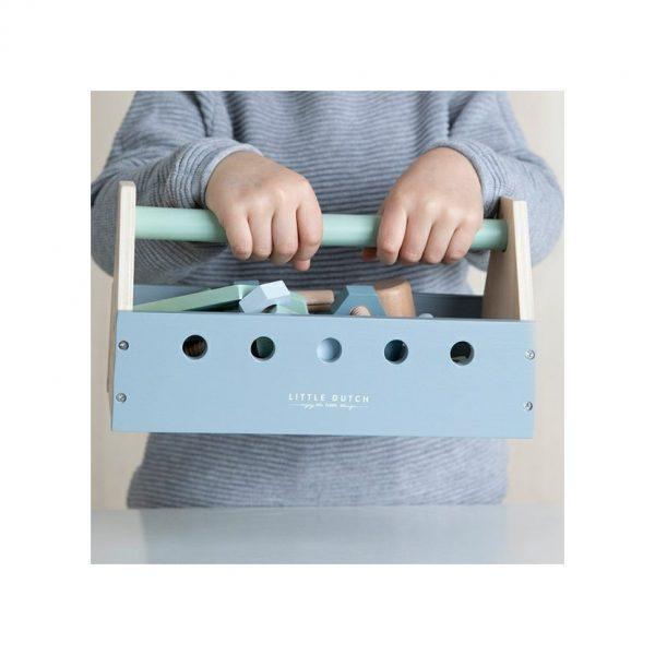drevené náradie pre deti