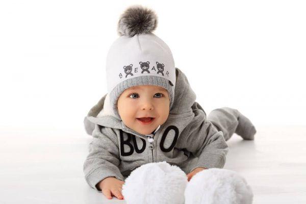 zimná čiapka pre bábätká