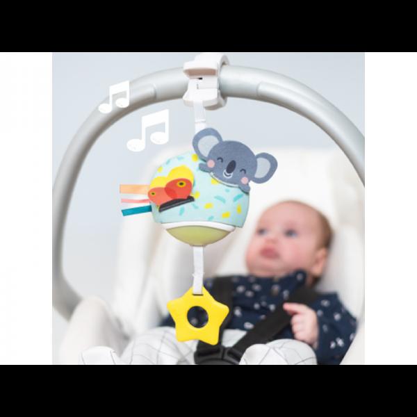 hudobné hračky na kočík