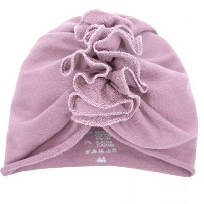 prechodná dievčenská čiapka turban