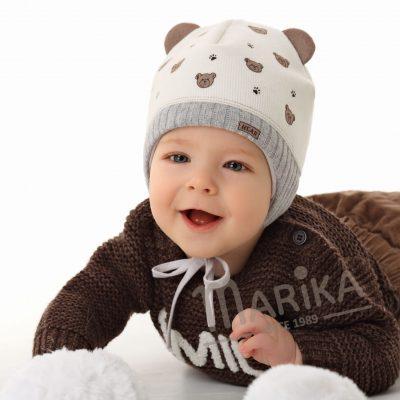 zimná čiapka pre bábätko Uško