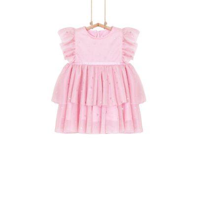 Dievčenské vianočné šaty