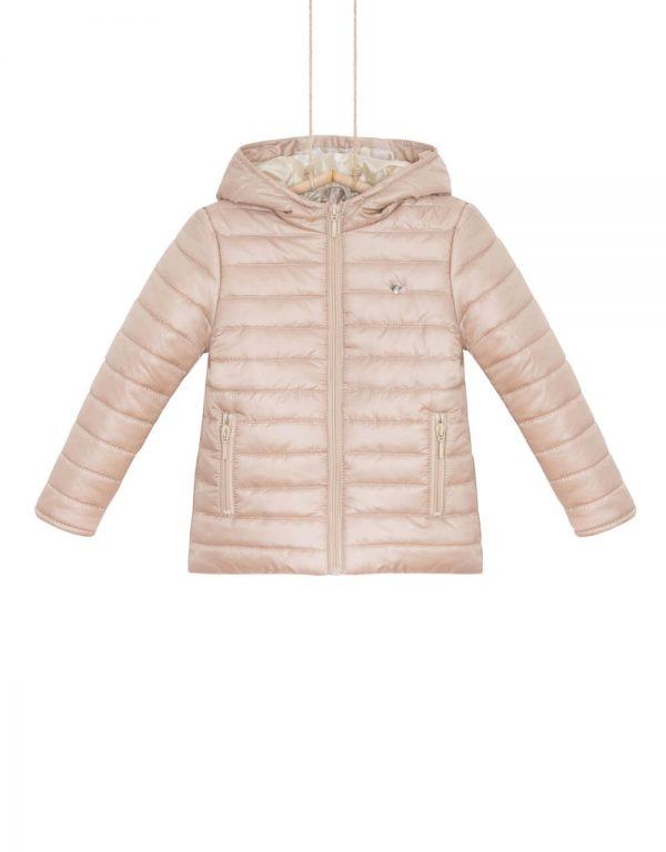 Dievčenská prechodná bunda zlatá OANA
