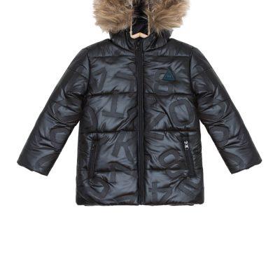 Chlapčenská zimná bunda čierna PAVLE