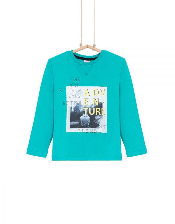 Chlapčenské tričko tyrkysové BANE