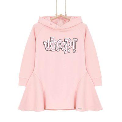 Dievčenské tunikošaty ružové BRITNI