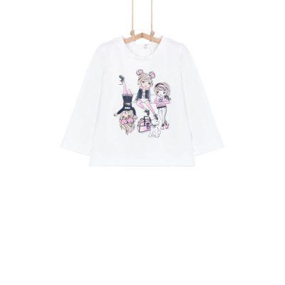 Dievčenské tričko Bebakids JUCA