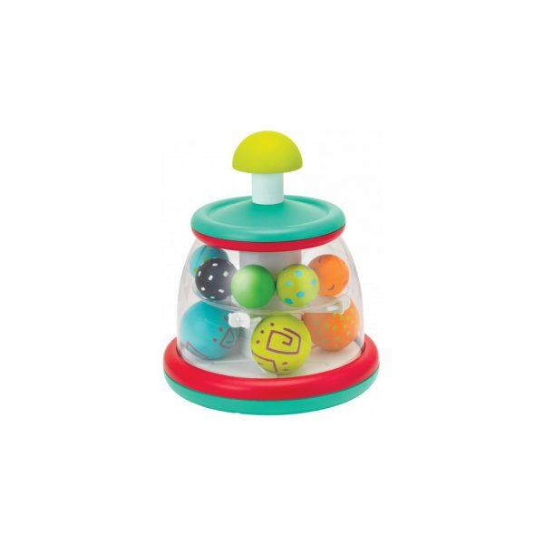 B kids Hrací pult s rotujúcimi loptičkami