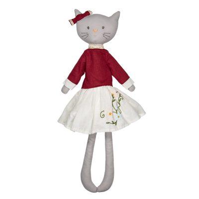 Bonikka Chi Chi ľanová bábika Bellamy Mačička