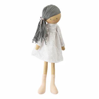 Bonikka Chi Chi ľanová bábika MEGAN sivé vlasy