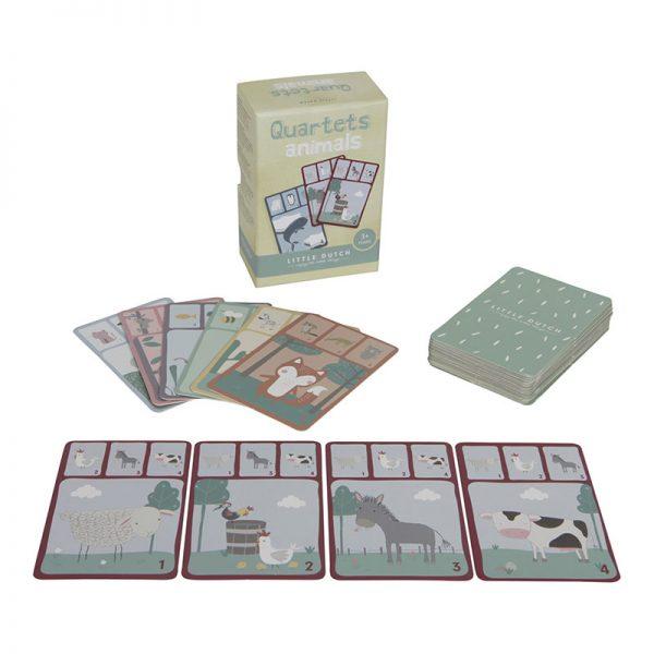 Little Dutch kartová hra Kvarteto