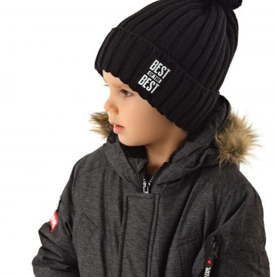 chlapčenská čiapka zimná